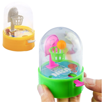 6cm 9cm Developmental Basketball Machine Anti-stress Player Handheld Children Basketball shooting Decompression Toys Gift image