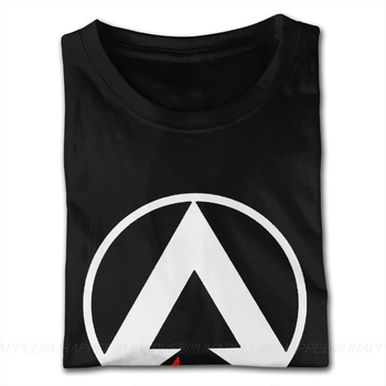 Classic Apex Legends Tee Shirts Mens Cheap Custom Short Sleeve Red Crew T Shirts 2