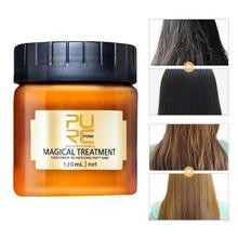 Волшебная лечебная маска для волос, питательная маска, восстанавливающая повреждения волос, восстанавливающая мягкую кожу головы, Успокаивающий Крем