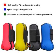 Outdoor Equestrian Sports Professional Horse Care Products Horse Front Leg Protector Soft Leggings PU Diving Material Leg Cover