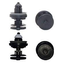 10 pces oem qualidade de plástico de náilon rebites 8mm buraco prendedor clipe painel da porta do carro push retentor clipes para ford c-max foco 2005-2014