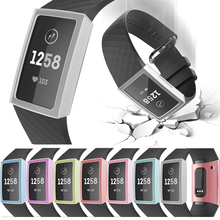 Smart Cover Protective Cases For Fitbit Charge 3 New Protection Ultra-Slim Clear PC Screen Protector for