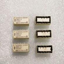 5pcs/lot New and Original relay G6S-2 5VDC 12VDC 24VDC DIP8