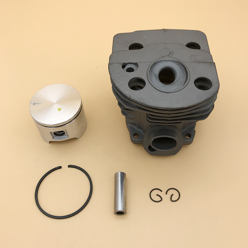 HUNDURE 46mm & 45mm Engine Cylinder Piston Ring Kit For HUSQVARNA 51 55  RANCHER Chainsaw Engine Parts # 503 60 91 71