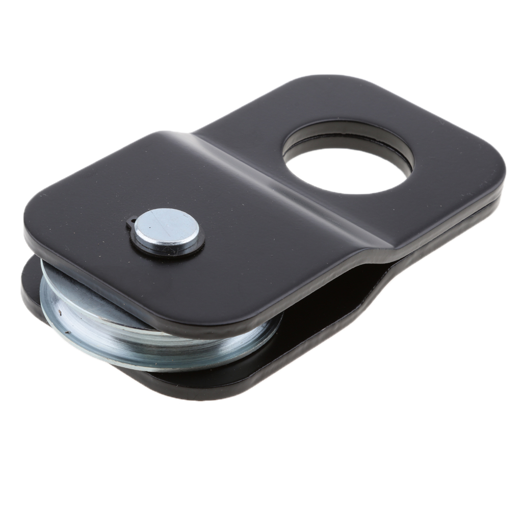 Snatch Block, Winch Pulley Block 8800lbs Capacity With Grease Fitting, 140mm*75mm*25mm