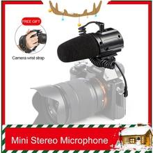 Saramonic SR-PMIC3 Micr для объемной записи с встроенным ударопрочным креплением, фильтром с низким вырезом и режимом работы без батареи для DSLR-камер