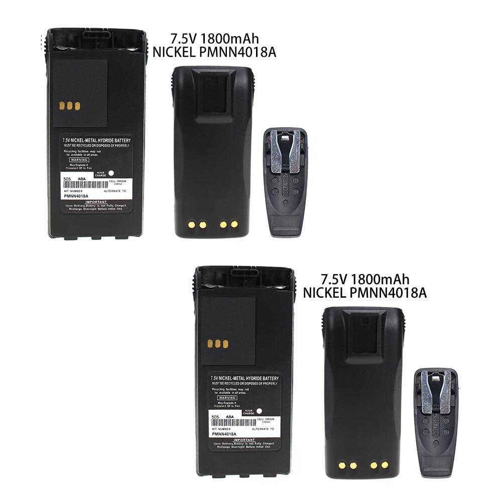 2X RB MOT PMNN4018A 1600mAh Ni-MH Two-Way Radio Battery for Motorola GP-308/88S, PRO3150, P-040/080,