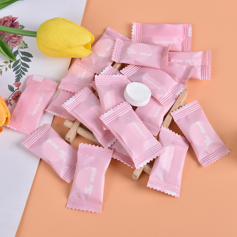 20PCS/5PCS Facial Mask Nonwoven Fabric Mask Paper Skin Care Dry Disposable Compressed Towel Face DIY Mask Makeup Tool