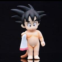 Dragon Ball Z hijo de acción Anime Goku Kakarotto Figura modelo lindo muñeca de coleccionista Brinquedos Goku DBZ Figma Juguetes