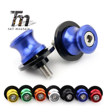 Swingarm Spools Slider Stand Screw For BMW S1000RR /HP4 S1000R S1000XR 2010-2018 11 12 13 Motorcycle Accessories CNC Aluminum kodaskin motorcycle accessories cnc billet aluminum folding extendable brake clutch levers for bmw s1000rr hp4 s1000r 2010 2015