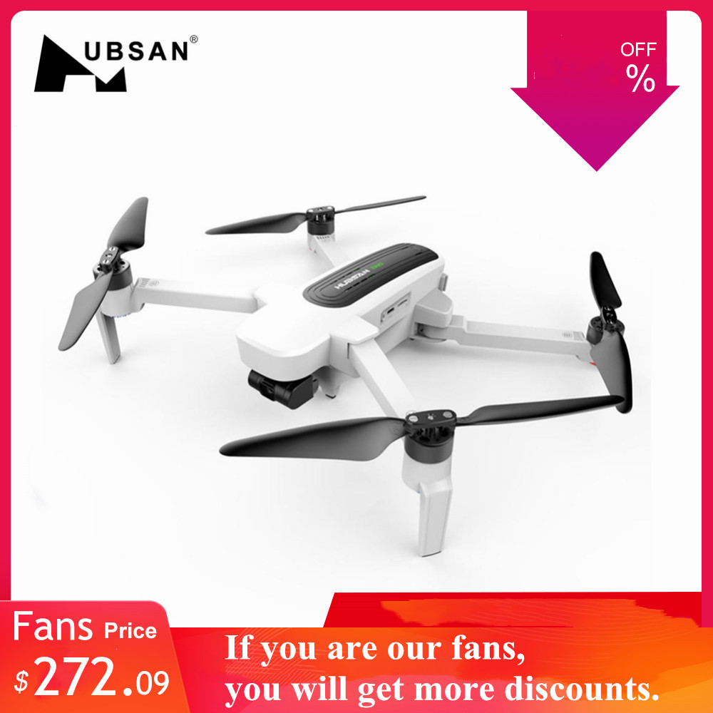 Hubsan RC Drone Helicopters-Toys Quadcopter Uav Camera 3-Axis gimbal Zino 4K RTF FPV