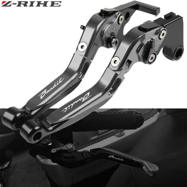 For Suzuki GSF 1200 BANDIT 2001 2006 GSF1200 Bandit Motorcycle Clutch Brake Lever Aluminum Extendable Adjustable Foldable Levers