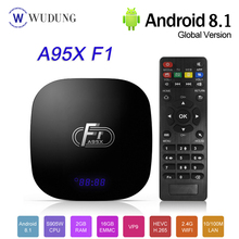 2020 Android 8.1 Smart TV Box A95X F1 Amlogic S905W Quad Cor