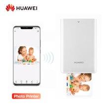 Huawei ต้นฉบับ AR แบบพกพาเครื่องพิมพ์ภาพพ็อกเก็ตมินิเครื่องพิมพ์ DIY Photo เครื่องพิมพ์สมาร์ทโฟนบลูทูธ 4.1 300dpi เครื่องพิมพ์