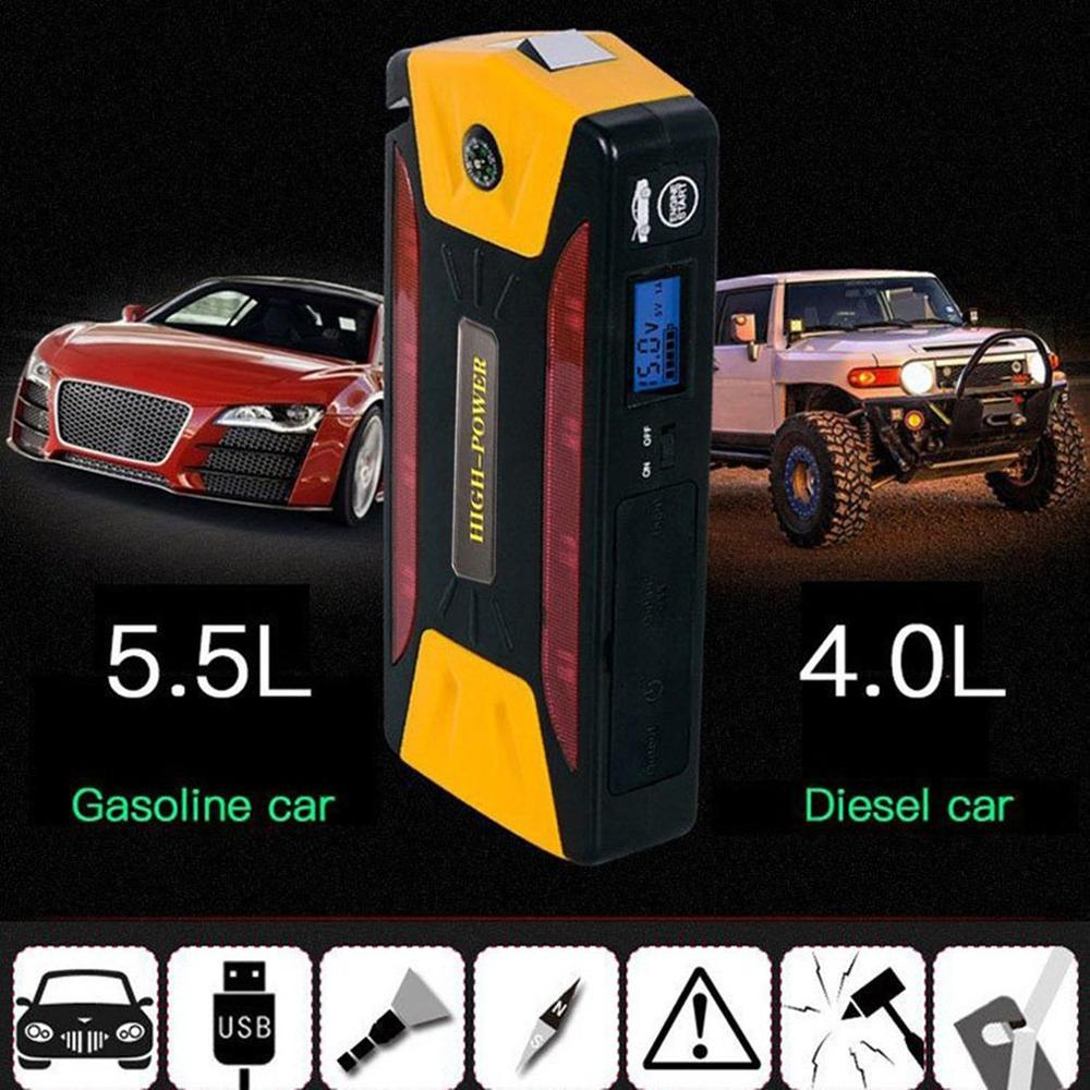 2019 Mini Portable 82800mAh Pack Car Jump Starter Multifunction Emergency Charger Booster Power Bank Battery 600A AU Plug Hot|Jump Starter| |  - title=
