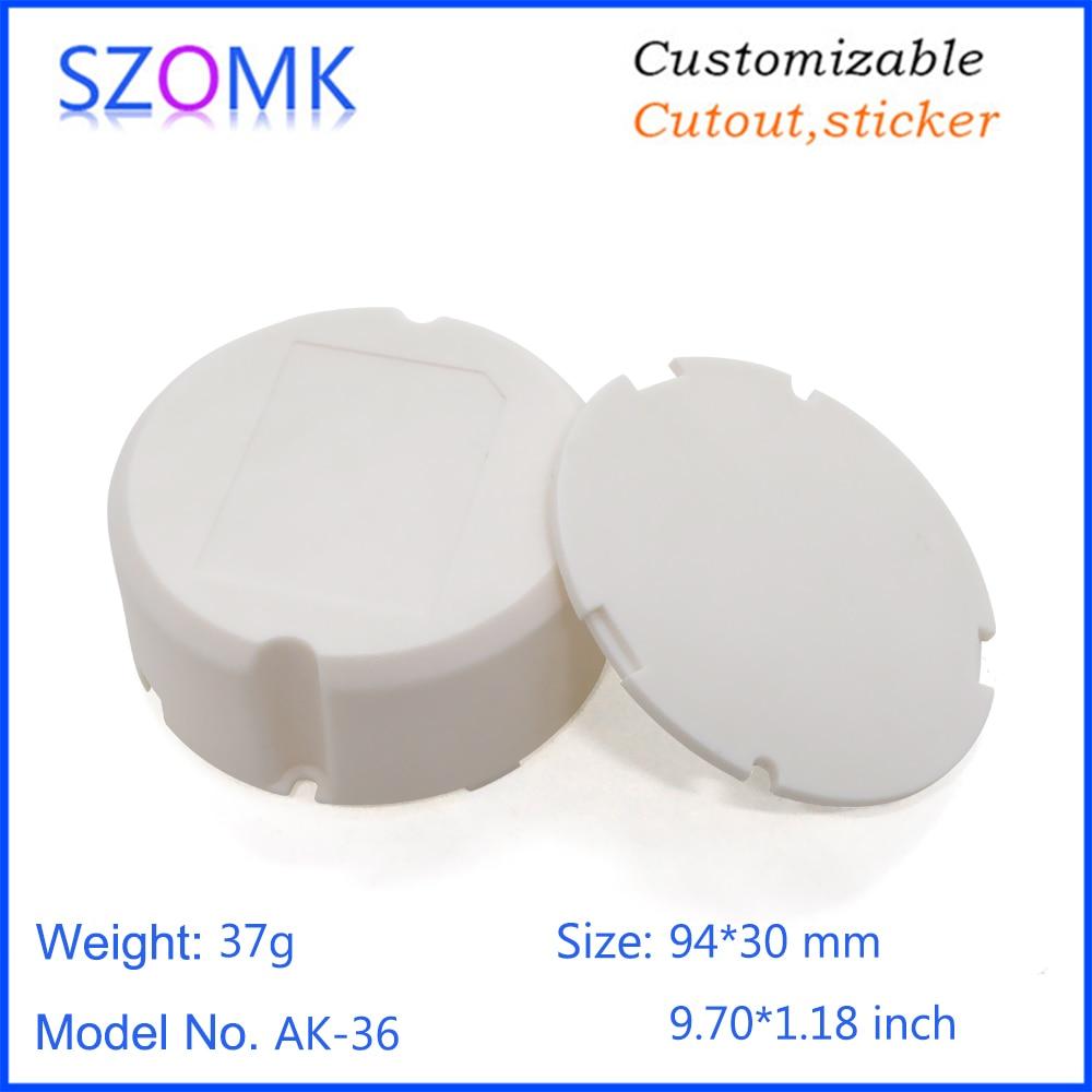 SZOMK power supply led driver plastic enclosure for electronics junction box instrument housing (9)