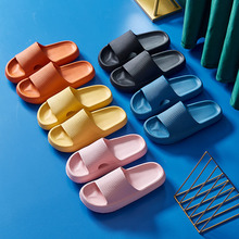 Pantoufles d'été pour femmes, chaussures confortables d'intérieur, de salle de bain, de plage, antidérapantes, pour les amoureux, 2021