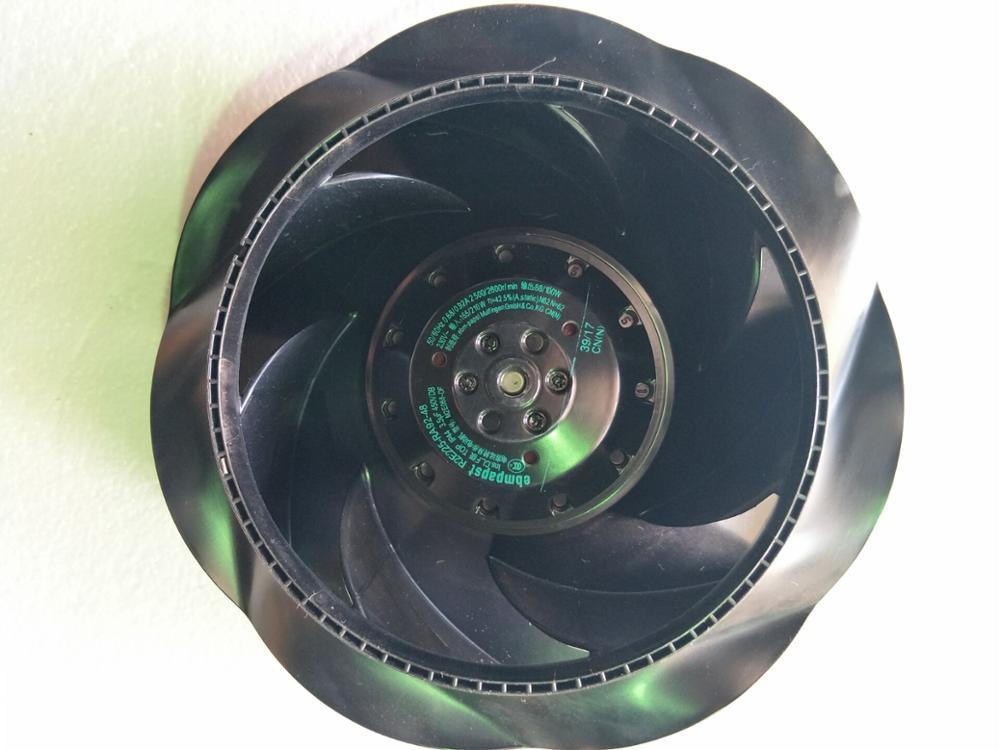 Ebm-papst R2E225 Series Centrifugal Centrifugal Fan R2E225-RA92-23/R2E225-RA92-48, 230 V AC 1195m3/h 225 Diameter 99mm