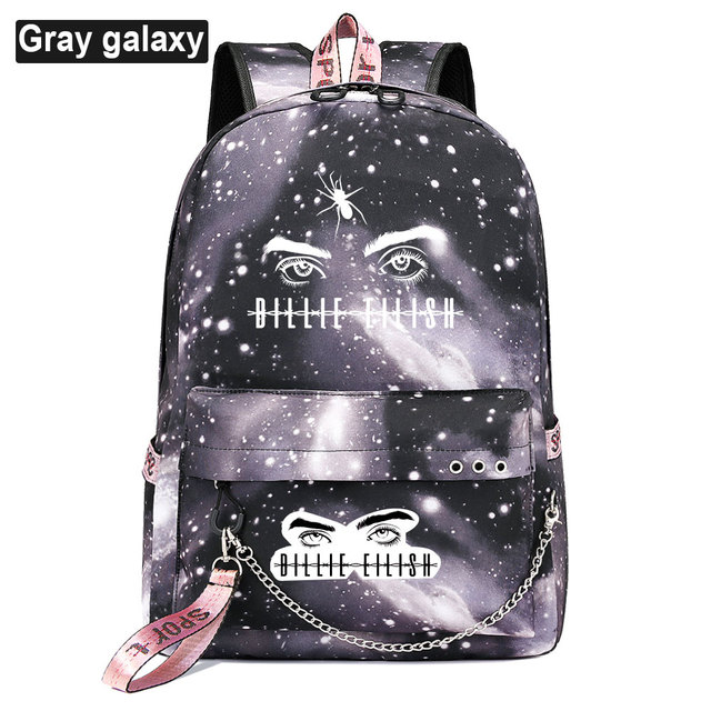 BILLIE EILISH THEMED BACKPACK (28 VARIAN)