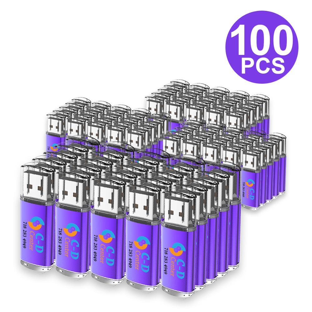 J-бокс 100X1 GB USB флеш-накопитель с печатным логотипом на заказ, прямоугольная гравировка, персонализированное имя, Флешка 2G 4G 8G 16GB Компьютер Mac - Цвет: Фиолетовый