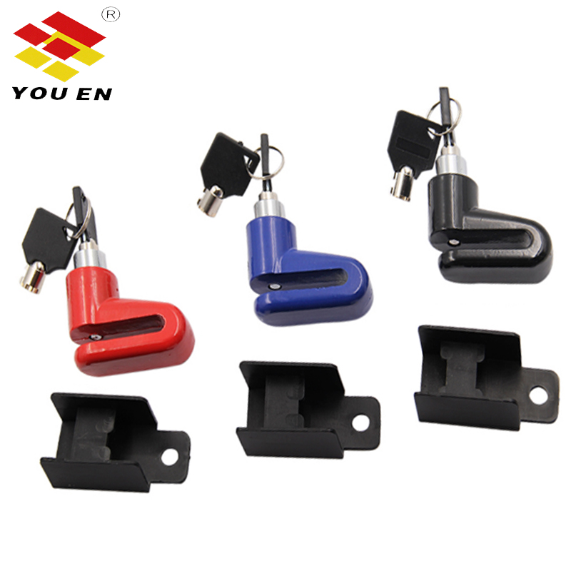 YOUEN Motorcycle Lock Security Anti Theft Bicycle Motorbike Motorcycle Disc Brake Lock Theft Protection For Scooter Safety