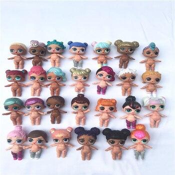 3pcs Random Genuine LOL surprise dolls Original lols dolls surprise action toys dolls for girl's Christmas gifts 8cm [zob] german kinmiller jean muller n5013805 63a nh00 777965 genuine original fuse 3pcs lot