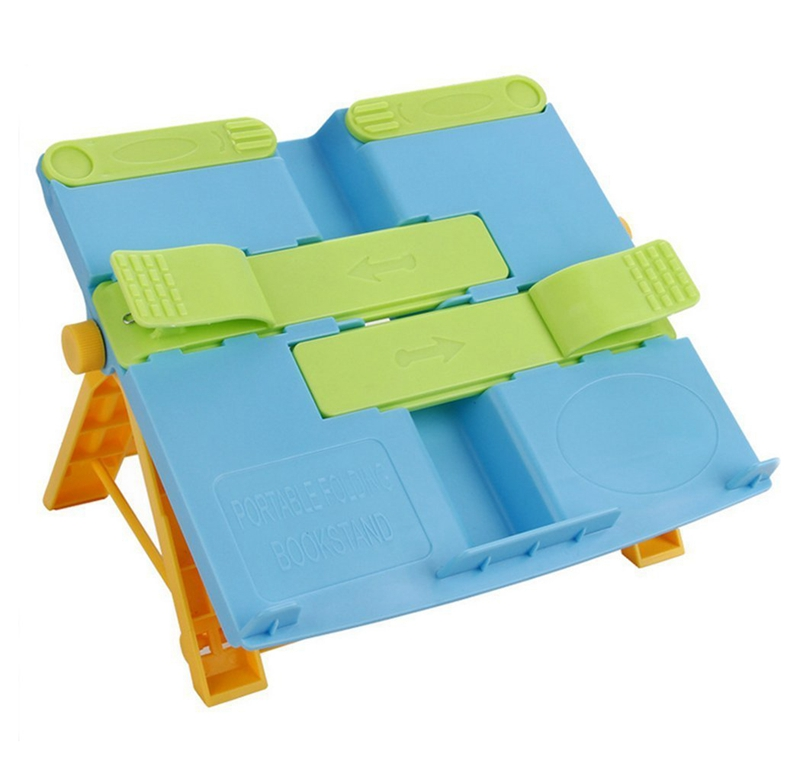 Multifunctional Portable Folding Bookstand Adjustable Reading Stands Tablet Holders
