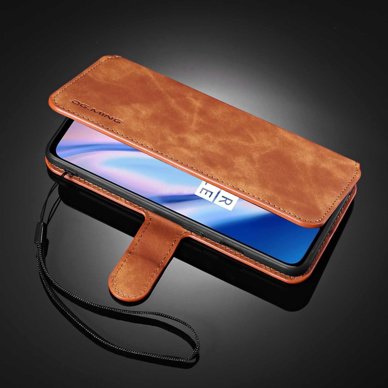 حافظة هاتف مصنوعة يدويًا من الجلد لهاتف آيفون 11 11Pro Max 6 6s 7 8 6Plus 7Plus 8Plus X XR Xs Max مع غطاء دعم مغناطيسي