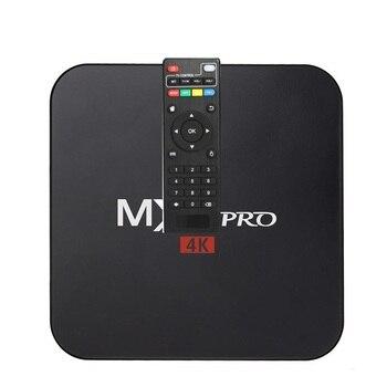 2 szt. MX Pro tv box z androidem Amlogic S905w czterordzeniowy 1G/8G 4K z WiFi android 7.1 os smart google tv box