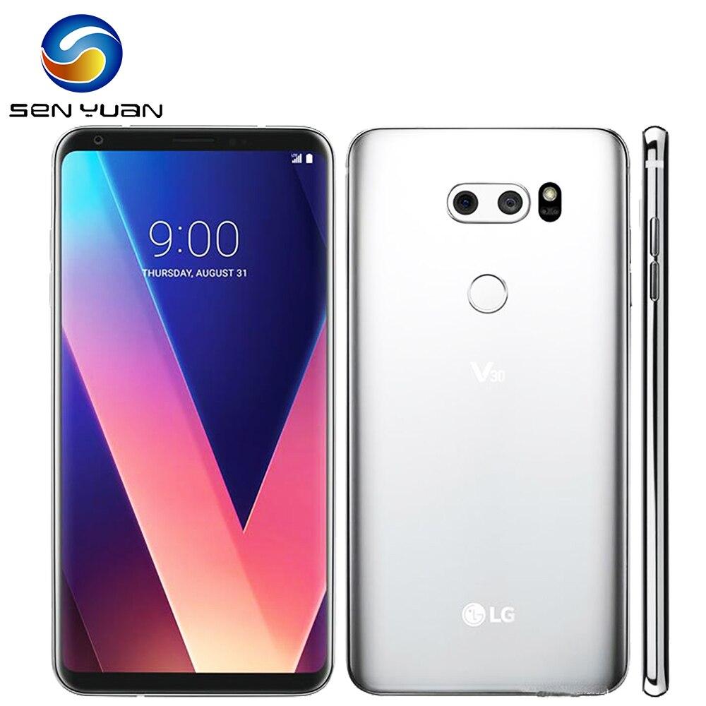 Original LG V30 Octa Core 6.0``4GB RAM 64/128G ROM Rear Camera 16.0MP 3 Camera LTE Fingerprint Unlocked Cellphone(China)