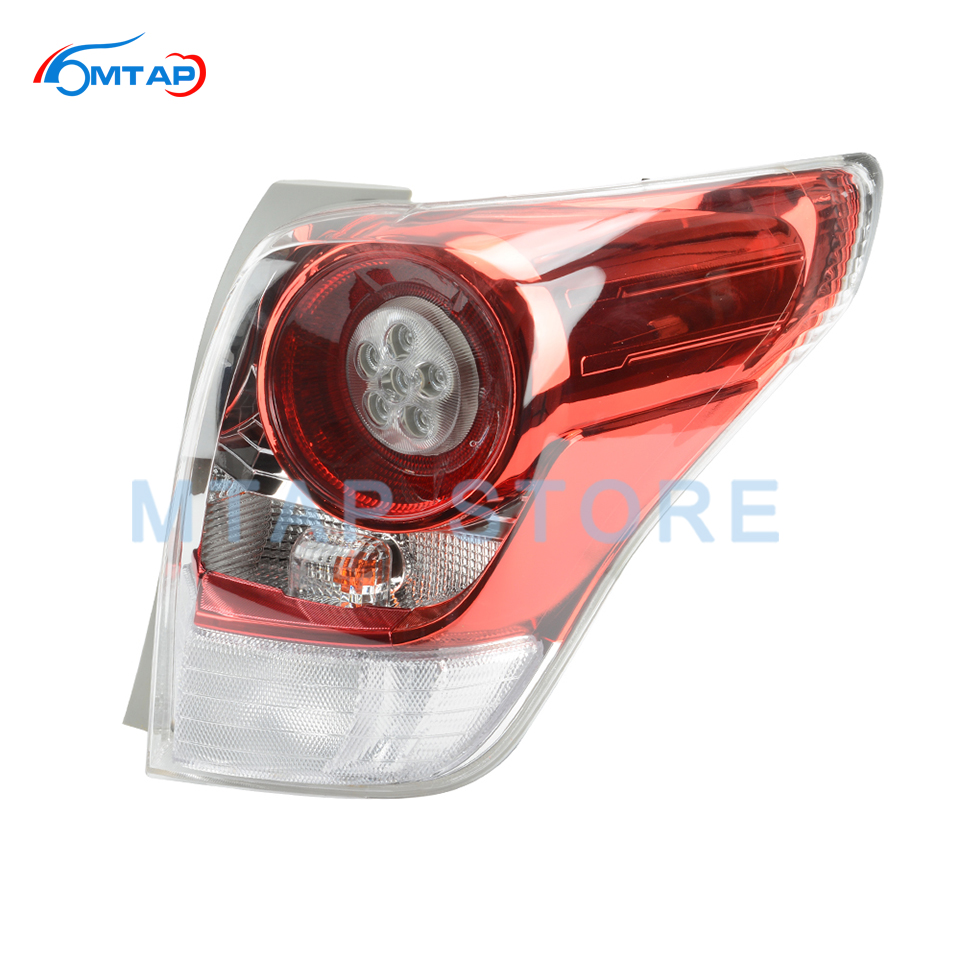 MTAP Car Lights Rear Bumper Tail Light Tail Lamp Assy For TOYOTA VERSO EZ 2011 2012 2013 2014 ZGR2# Taillight Taillamp