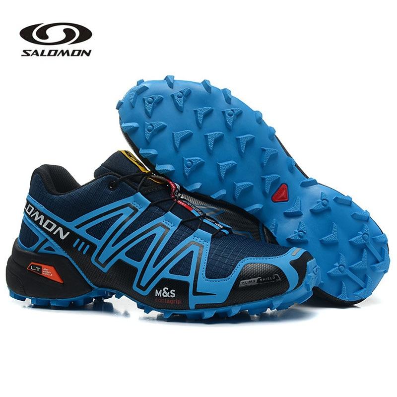 ¡Novedad de 2020! Zapatos deportivos Salomon Speed Cross 3 para hombre, zapatos deportivos para caminar al aire libre, trotar Zapatos Salomon hombre