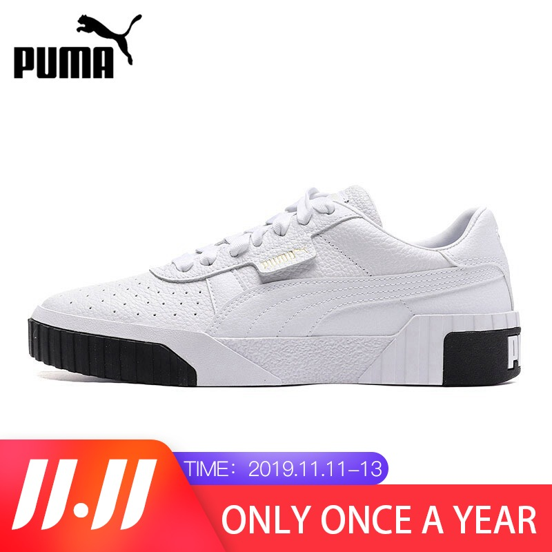 Original PUMA Cali For Women's Skateboarding Shoes Sneakers 2019 New Arrival  Young Color Free Comfortable