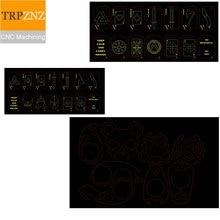 Custom Product Link, Messing En Roestvrij Staal Sleutelhangers, Laser Precisie Snijden, Bocht Plaatwerk Cnc Bewerking