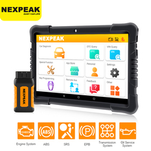 NEXPEAK OBD2 Car Scanner Bluetooth Scan ABS Airbag Oil EPB D