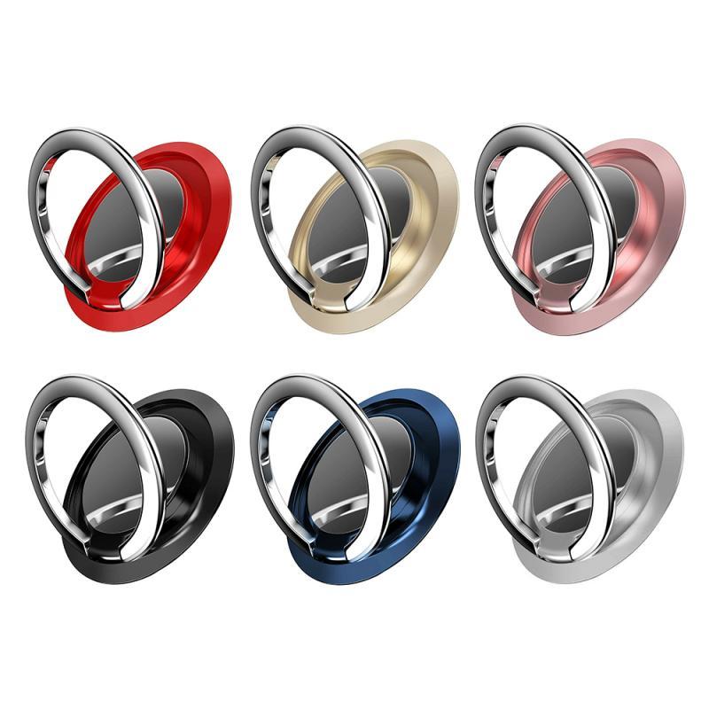 Тонкий магнитный металлический держатель телефона с кольцом на палец вращающаяся на 360 градусов розетка для смартфона с магнитной подставкой для смартфона|Подставки и держатели|   | АлиЭкспресс