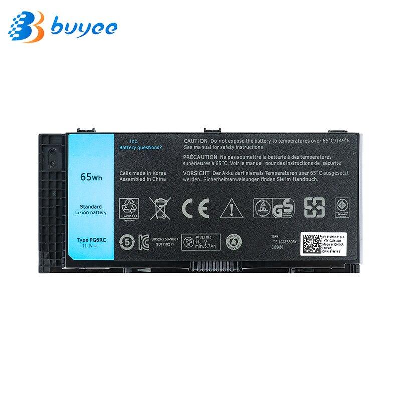 11,1 В 65wh оригинальный FV993 PG6RC R7PND Батарея для DELL Precision M6600 M6700 M6800 M4800 M4600 M4700 T3NT1 FJJ4W OTN1K5