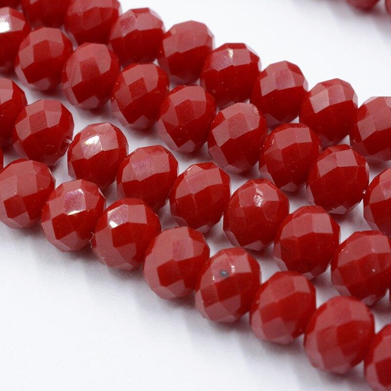 4 мм 140 шт./лот бусины из кристаллов, граненые круглые стеклянные бусины - Цвет: 081
