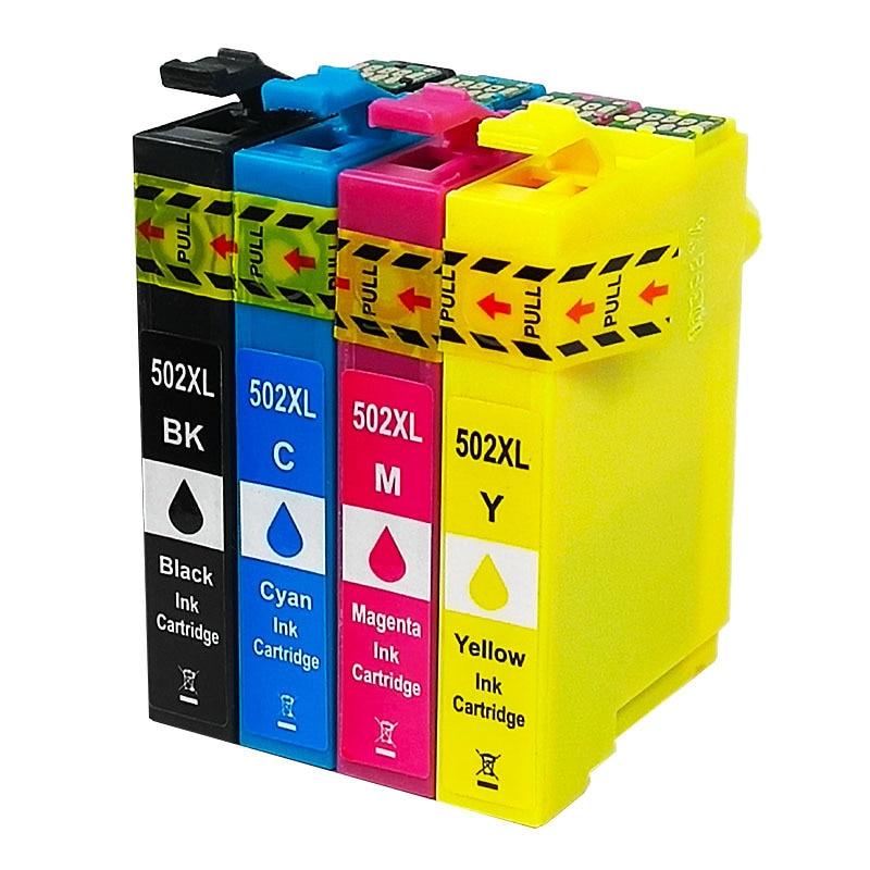 Befon Compatible T502XL 502XL Ink Cartridge For Epson XP-5100 XP-5105 WF2860 WF2865