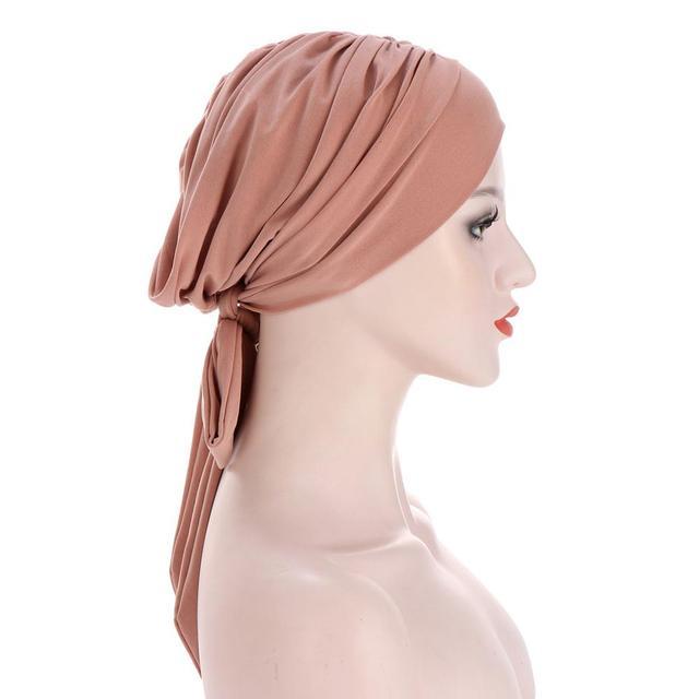 Фото мусульманский тюрбан шапка для женщин предварительно завязанная цена