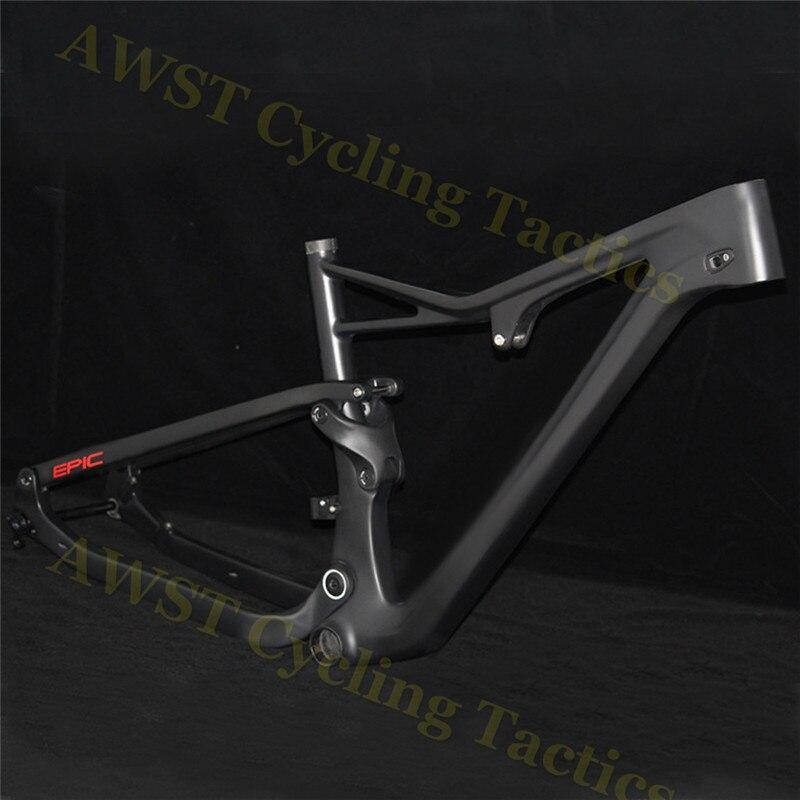 EPIC Carbon Enduro Bike Frame OEM 27.5er/29er Compatible Axle 148X12 Boost  Bike Frame Full Carbon Suspension Excellent