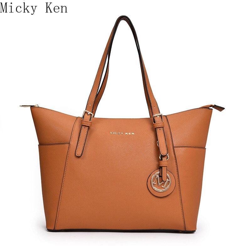 MICKY KEN Women Shoulder Bag Fashion Women Handbags  Leather Large Capacity Tote Bag Casual Pu Leather Women Messenger Bag