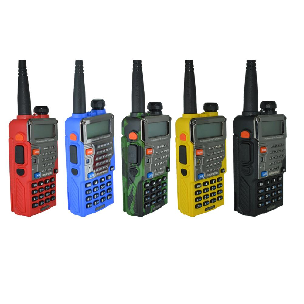 Baofeng Walkie-talkie Uv-5r Dual-frequency Two-way Radio VHF / UHF 136-174MHz And 400-520MHz FM FM Portable Walkie-talkie With