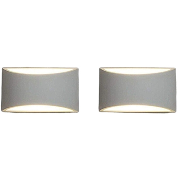 Modern LED Wall Sconces,Set of 2 Sconces Wall Mounted Wall Lighting Fixture 7W Warm White Down Wall Lamps for Living Room Bedroo