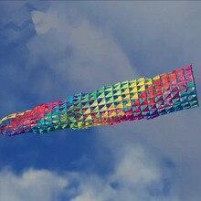 4,8 м большая корзина для рыбы, ветрозащитная большая ветровая трубчатый змей, уличная забавная летающая игрушка, может подобрать кайт-хвост