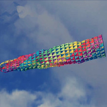 Kite Outdoor Windsock Fish-Basket Flying-Toy Wind-Tube Large Fun Big Can-Pick-Up