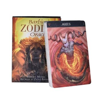 Barbieri Zodiac Oracle Tarot 26 Cards Deck Mysterious Guidance Divination Fate Family Party Board Game недорого