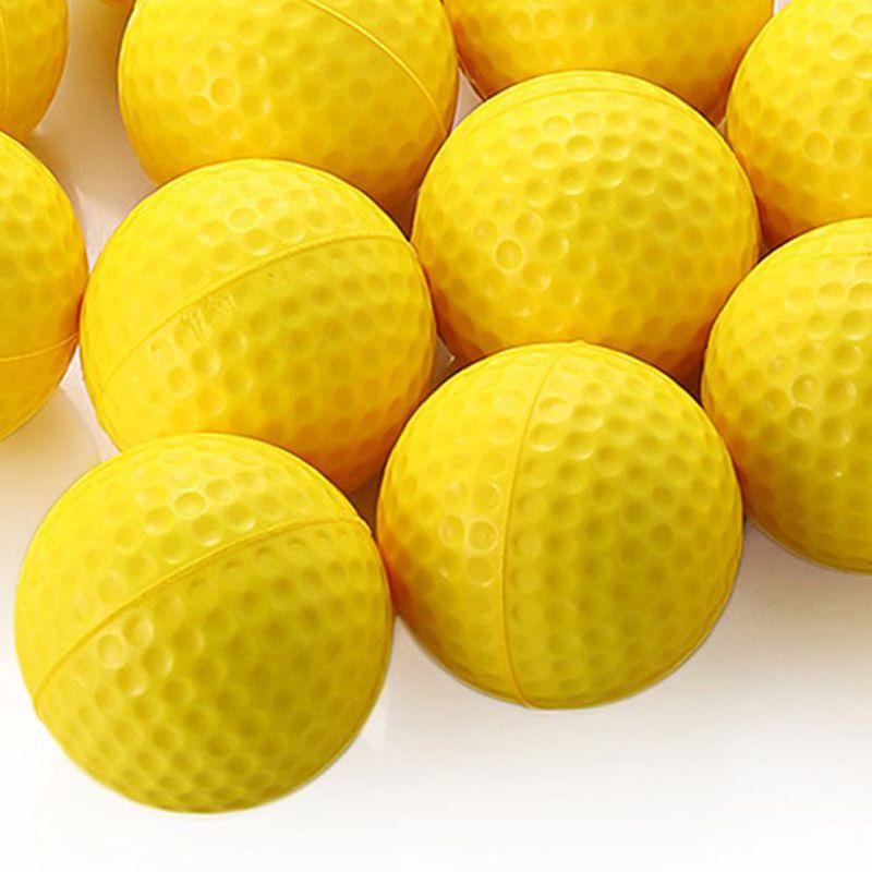 12 Pcs Golf Elastic Ball Hit Shot Putting Training Practice Aid Swing Sports 87HF