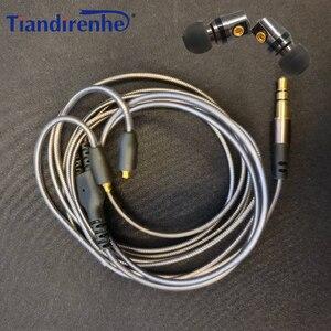 Image 5 - DIY MMCX Interface DD Dynamic HIFI In ear Earphones Detachable Mmcx Cable for Shure Earphone SE215 SE535 SE846 UE900 Headset