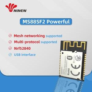 Image 4 - Nordic Zuverlässige Partner Minew Long Range Bluetooth 5 Ble 5,0 nRF52840 Modul Mesh Modul BLE 5,0 basierend auf nRF52840 soCs